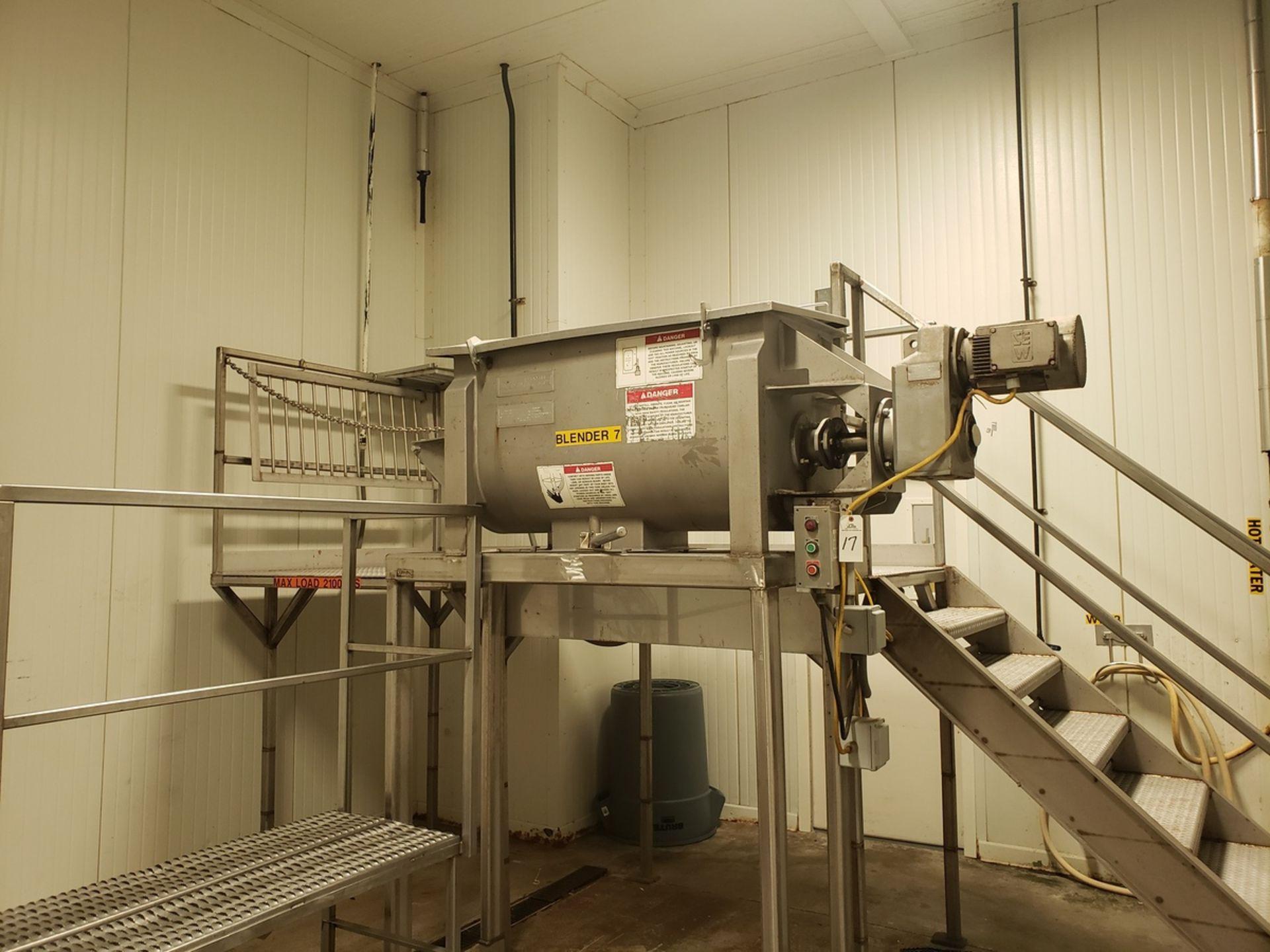 Lot 17 - Ribbon Blender - American Process Systems Ribbon Blender, M# DRB-11, S/N - Loc: NJ   Rig Fee: $750