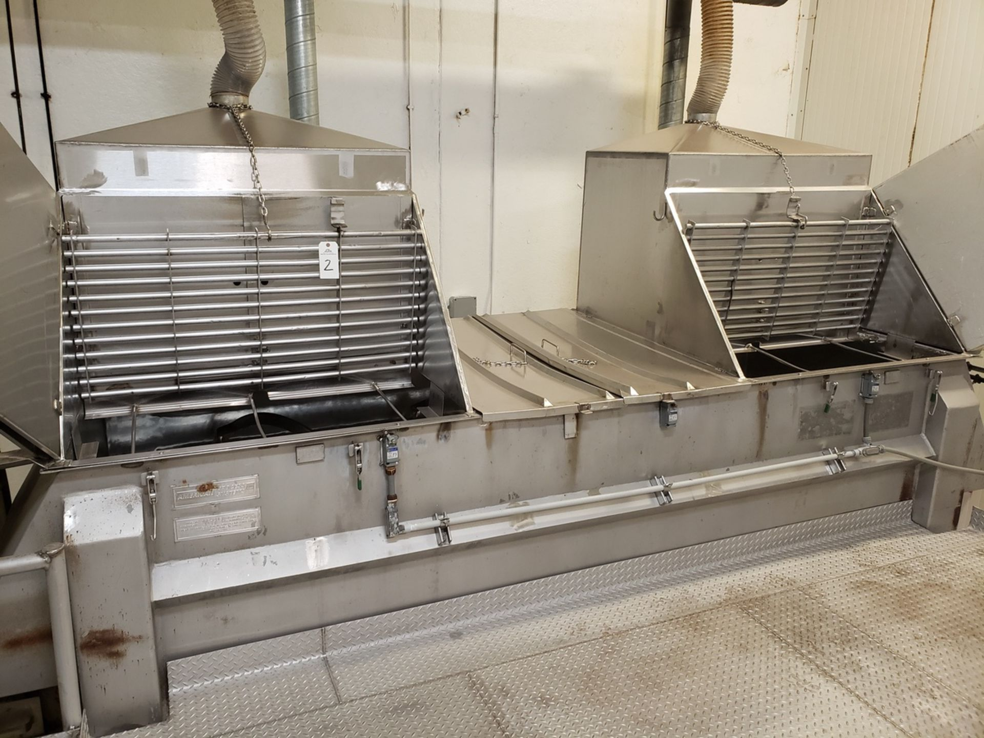 Lot 2 - Ribbon Blender - American Process Systems Stainless Steel Ribbon Blender, - Loc: NJ | Rig Fee: $3500