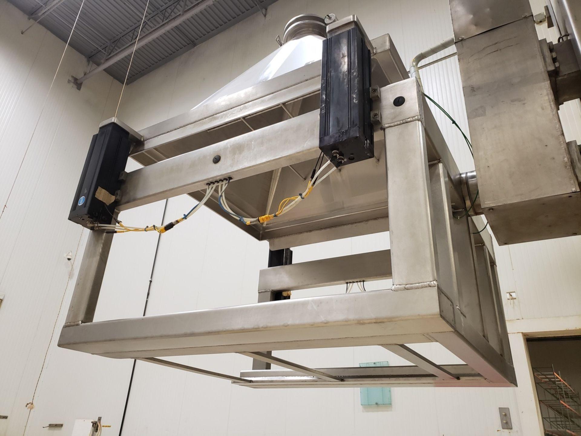 Lot 9 - Meto 2,000 lb. Rotating Trough Lift/Dump Tower, M# M5444-42, S/N 7613, Al - Loc: NJ | Rig Fee: $2500