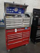 Kobalt Top & Craftsman Bottom Tool Chests, W/ Contents, (See Additional Pictures) Rig Fee: $25