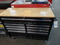 Husky Bottom Tool Chest, W/ Contents, (See Additional Pictures) Rig Fee: $25