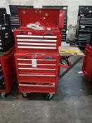 Waterloo Top & Craftsman Bottom Tool Chests, W/ Contents, (See Additional Pictures) Rig Fee: $25