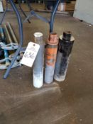 Lot of (3) Core Drills Rig Fee: $10