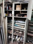 Storage Cabinet W/Contents, Welding Supplies Rig Fee: $50