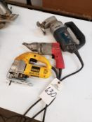 Lot of (3) Electric Power Tools Rig Fee: $10