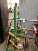 Oxy Acetylene Torch W/Cart Rig Fee: $10
