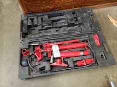 Hydraulic Jack Set Rig Fee: $10