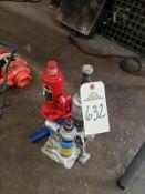 Lot of (3) Hydraulic Jacks Rig Fee: $10
