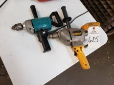 Lot of (2) Electric Drills Rig Fee: $10