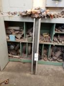 Cabinet, W/ Contents, Tooling & Spare Parts Rig Fee: $50