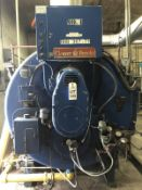 Cleaver Brooks Package Boiler, Model CB655-150, Oil Fired, 15 PSI, 150 HP, Low P   Rig $ See Desc