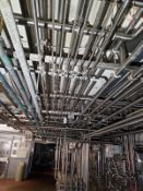 Remaining Sanitary Pipe, Valves & Fittings in Room, (Excluding any Other Lotted | Rig Fee: $1200