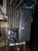 Stainless Steel Flow Fitting Manifold, W/ Control Cabinet | Rig Fee: $300