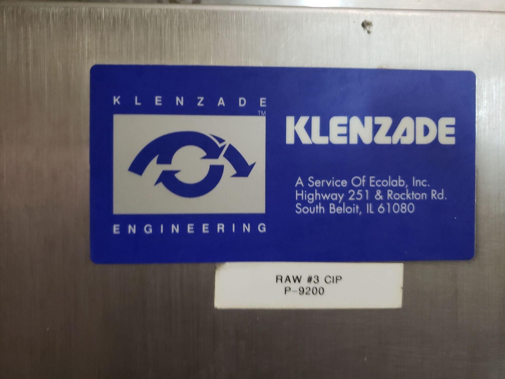 Lot 3 - Klenzade CIP Skid, W/ Heat Exchanger, Ref. Raw #3 CIP