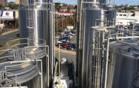 200K SqFt Milk Plant: 500 Lots (10) 15,000 Gal Aseptic Agitated Jacketed Vac Tanks, SS Silos to 50K Gal, (10) 8,500 Gal Vert, Fillers, 5 Uniloy