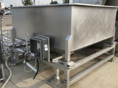 Stainless Steel 7' x 7' Bin (Tagged as 80) | Rig Fee: $150 See Full Desc