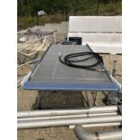Conveyor, Approx 40in W x 8ft L   Rig Fee: $150 See Full Desc