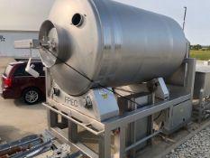 FPEC 6,000 LB Stainless Steel Vacuum Tumbler, S/N 6679 (Tagged as 81) | Rig Fee: $750 See Full Desc