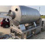 FPEC 6,000 LB Stainless Steel Vacuum Tumbler, S/N 6679 (Tagged as 81)   Rig Fee: $750 See Full Desc