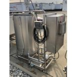 Stainelss Steel Brine Mixing Tank with Rotosolver Type Agitator and C   Rig Fee: $150 See Full Desc