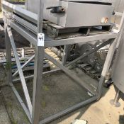 SS Pallet Deck, Approx 52in X 52in X 52in Height | Rig Fee: $50 See Full Desc