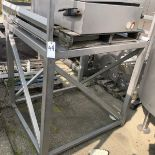 SS Pallet Deck, Approx 52in X 52in X 52in Height   Rig Fee: $50 See Full Desc