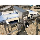 Safeline Metal Detector, Approx Aperture 20in W x 7in Clear   Rig Fee: $150 See Full Desc