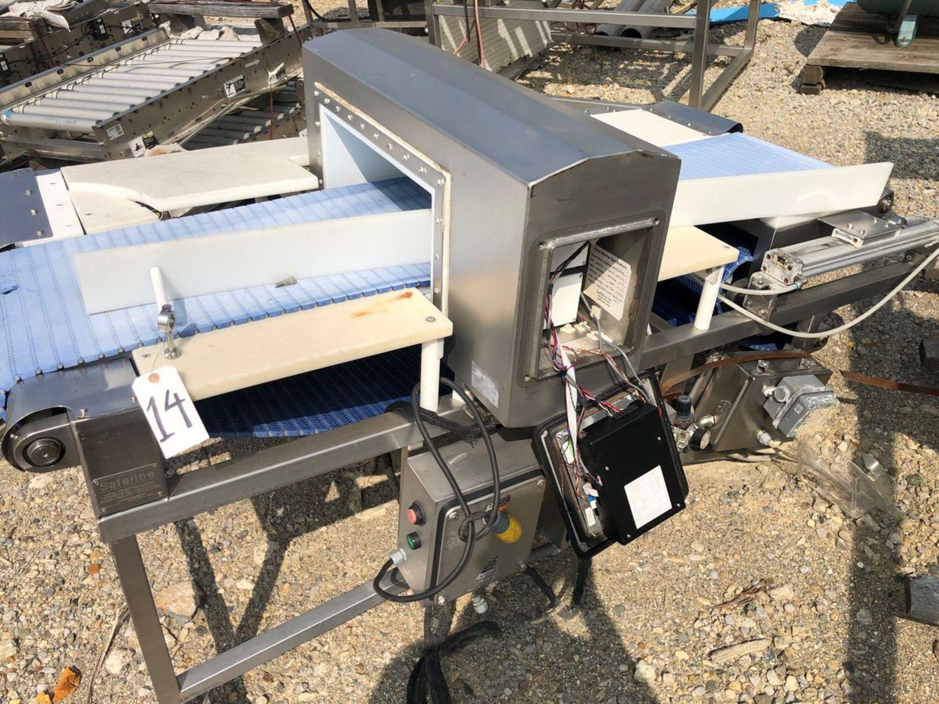 Safeline Metal Detector, Approx Aperture 20in W x 7in Clear | Rig Fee: $150 See Full Desc