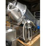 Wolfking Model TRC2.5 2,500 LB Stainless Steel Vacuum Tumbler, S/N 87   Rig Fee: $500 See Full Desc