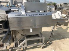 200 Carruthers Auto Slicer Dicer 5100, S/N 51291 | Rig Fee: $150 See Full Desc