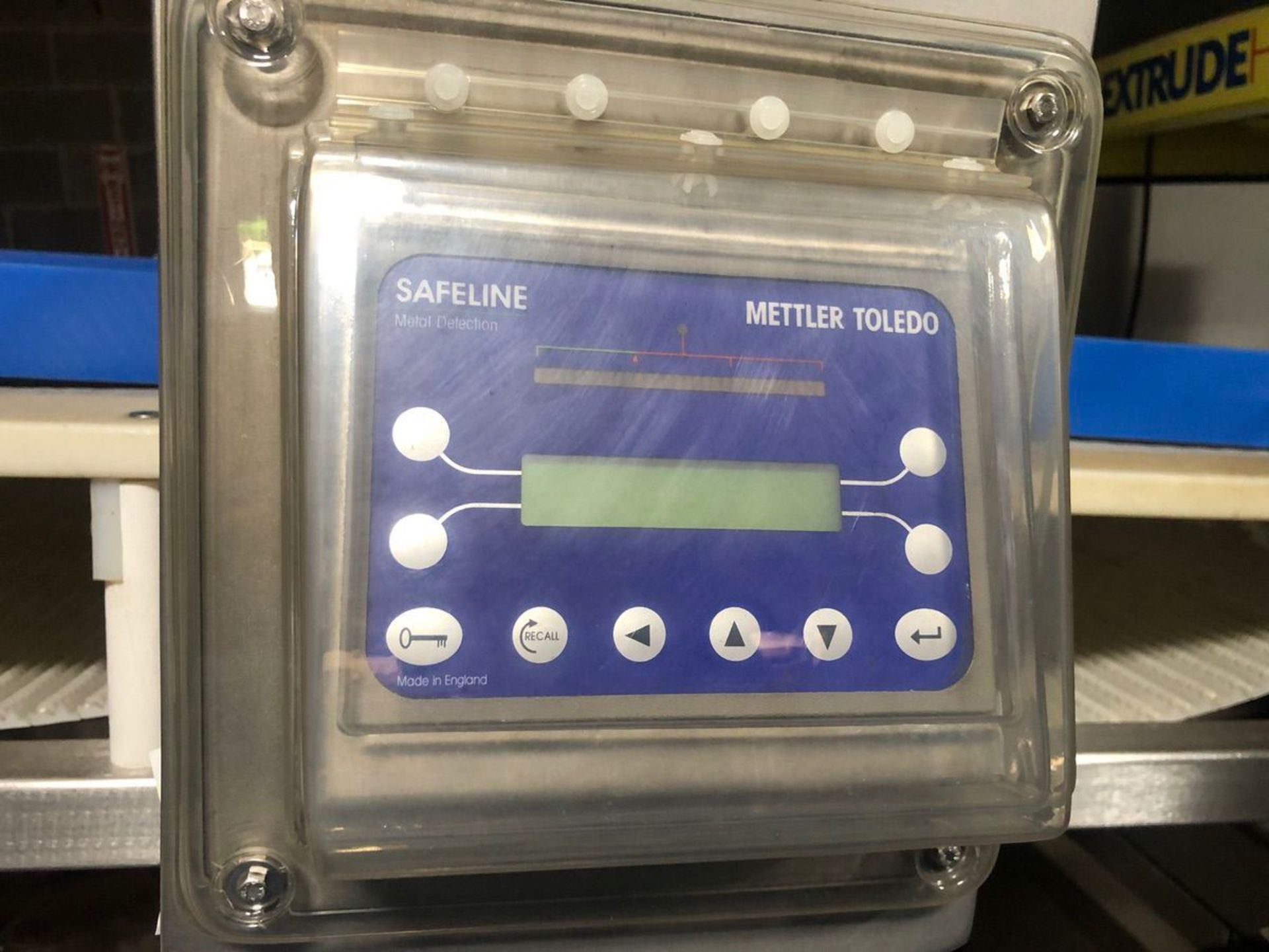 Safeline Conveyorized Slab Metal Detector with Retracting Reject (Tag | Rig Fee: $250 See Full Desc - Image 2 of 3