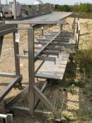 Custom Pipe rack, 10ft Long | Rig Fee: $150 See Full Desc