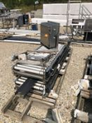 Conveyor line (New) with Motor, Approx 20in W x 14ft Long | Rig Fee: $150 See Full Desc