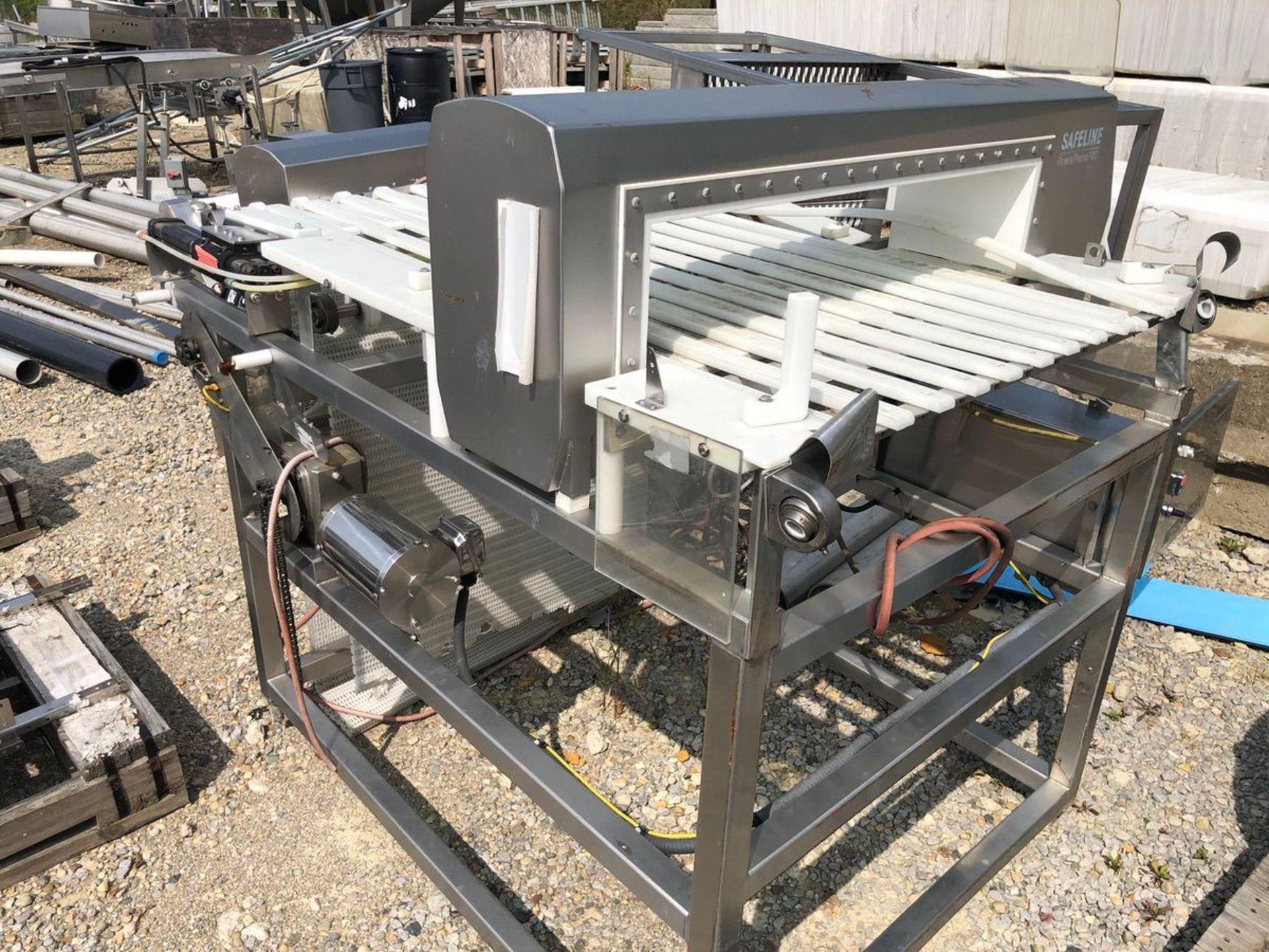 Safeline PowerPhasePro Metal Detector, Approx Aperture 36in W x 7in C | Rig Fee: $150 See Full Desc - Image 3 of 4