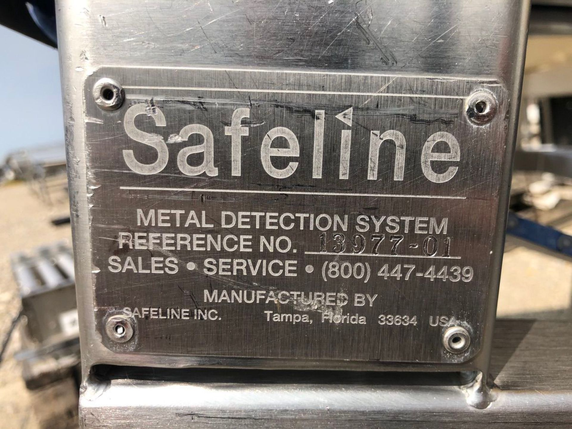 Safeline Metal Detector, Approx Aperture 20in W x 7in Clear | Rig Fee: $150 See Full Desc - Image 5 of 5