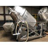 Wolfking Model TR2.5 2,500 LB Stainless Steel Vacuum Tumbler, S/N 870   Rig Fee: $500 See Full Desc