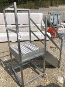 SS Platform, 30in x 30in Platform, 36in Height | Rig Fee: $50 See Full Desc