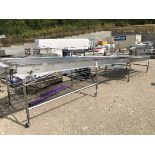 Conveyor, Approx 43in W x 24ft L   Rig Fee: $250 See Full Desc
