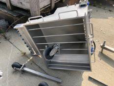 Stainless Steel Hopper | Rig Fee: $150 See Full Desc