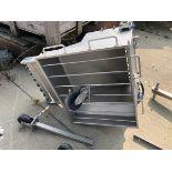 Stainless Steel Hopper   Rig Fee: $150 See Full Desc