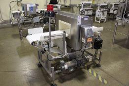 "Eriez Metal Detector, 14"" x 8"" Aperture, 6.5"" Above Conveyor, 12"" x 64"" Conveyor,   Rig Fee: $250"
