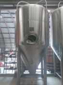 2013 Pacific Brewing 60 BBL Unitank Fermenter, Glycol Jacketed, - Sub to Bulk | Reqd Rig Fee: $1250