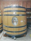 2016 Taransaud 2000L Foeder, Approx Dims: 5ft-6in Dia x 6ft OAH - Sub to Bulk | Reqd Rig Fee: $550