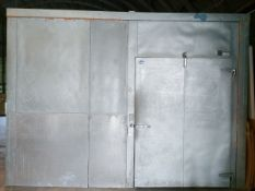 Walk in Cooler, Approx 15ft x 30ft, Associated Condensing Unit - Sub to Bulk | Reqd Rig Fee: $2500
