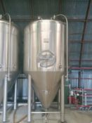 2013 Pacific Brewing 30 BBL Unitank Fermenter, Glycol Jacketed, - Sub to Bulk | Reqd Rig Fee: $900