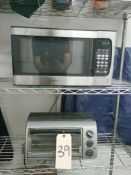 Microwave and Toaster Oven - Sub to Bulk | Reqd Rig Fee: Buyer to Remove