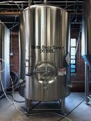 2011 Premier Stainless 30 BBL Brite Tank, Glycol Jacketed, Approx Di - Subj to Bulk | Rig Fee: $950