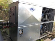 2011 Pro Chiller Glycol Chiller, Dual 10 HP Compressors, 2 HP Proces - Subj to Bulk | Rig Fee: $1500