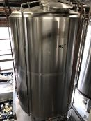 2011 Premier Stainless Hot Liquor Tank, Steam Jacketed, Approx Dims: - Subj to Bulk | Rig Fee: $1050