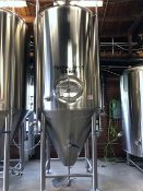 2011 Premier Stainless 30 BBL Fermenter, Glycol Jacketed, Approx Dim - Subj to Bulk | Rig Fee: $950